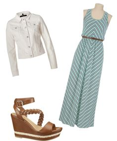 """""""summer maxi style"""" by bluegrassbaby98 ❤ liked on Polyvore"""