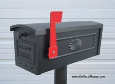 The Mailbox Shoppe supplies residential mailboxes and mailbox posts. Large selection of post mount mailboxes and mailbox posts. Mounted Mailbox, It Cast, Traditional, Outdoor Decor, Home Decor, Decoration Home, Room Decor, Interior Decorating