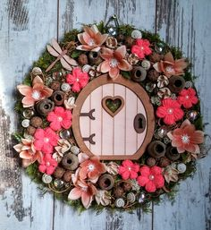 Topiary, Floral Wreath, Wreaths, Pure Products, Fall, Wreath Ideas, Design, Home Decor, Crown Cake