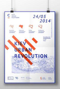 City Sense Platform branding design by Irene Shkarovska Dm Poster, Poster Layout, Typography Poster, Typography Design, Lettering, Poster City, City Branding, Branding Design, Editorial Layout