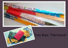 tuto simple et rigolo pour faire son biais patchwork