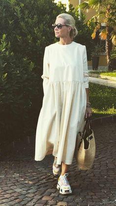 Korean Fashion Winter, Korean Fashion Dress, Korean Fashion Casual, Winter Fashion Outfits, Hijab Fashion, Autumn Fashion, Korean Dress, Summer Outfits, Fashion Dresses