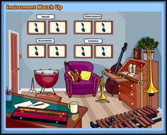 the ultimate list of online music educational activities!  Great for teaching music appreciation and theory to students at home.
