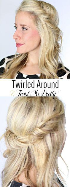 Twirled around twist me pretty