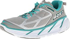 Hoka One One Womens Clifton AquaGreyWhite -- Check this awesome product by going to the link at the image.
