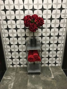 What's Black and White and #RED all over? It's our Cementine Black and White #porcelain tile on #GoRedWearRed day!! https://arizonatile.com/en/products/porcelain-and-ceramic/cementine-black-and-white This charming series mimics decorative cement tiles, but is longer lasting and requires little maintenance. #AZTlove #HeartHealth #Nike Learn more about why we #GoRed here: https://www.goredforwomen.org/get-involved/national-wear-red-day/national-wear-red-day/