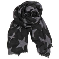 Becksondergaard X Supersize Nova Star Silk Blend Scarf - Black ($89) ❤ liked on Polyvore featuring accessories, scarves, black, patterned scarves, print scarves, star scarves, becksöndergaard and polka dot scarves