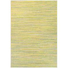 Varick Gallery Dobbs Alassio Sand & Sea Mist Indoor/Outdoor Area Rug Rug Size: