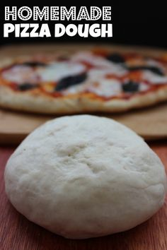 Homemade Pizza Dough Recipe! The Perfect Fall Dinner Recipe for Kids and Adults!
