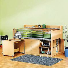 10 Best Loft Beds Images In 2011 Bunk Beds Kid Beds Bed