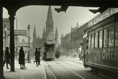 BERLIN 1928. Unter der Stadtbahn Bruecke am Bahnhof Zoologischer Garten