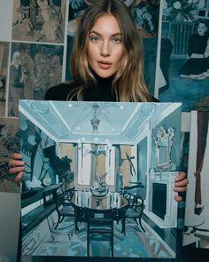 """Gefällt 1,910 Mal, 47 Kommentare - Alice Herbst (@aliceherbst) auf Instagram: """"Painting: Surface 50x50 cm #oilpainting #painting #paintings #artworks #interior #interiordecor…"""""""