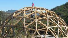 Resultado de imagen para como hacer un domo de madera