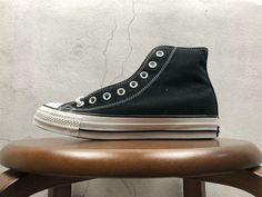 cb2f85e112d Authentique Unisex Converse All Star 100 Colors High Black Noir White blanc Youth  Big Boys Shoes