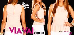 #viavai #peplum #nude #pastel