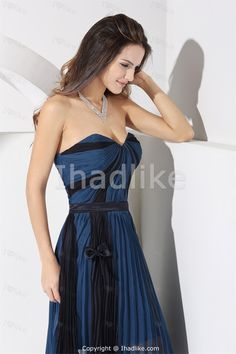 c31589bf5b Sweetheart Navy and Black Beach Bridesmaid Dress WD1-053 1st-dress.com