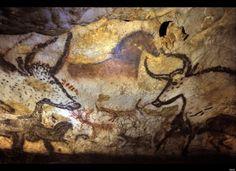 Lascaux Cave  pre-historic art  World's Oldest Work of Art   Spain