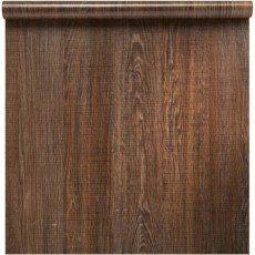 Revêtement adhésif Bois, brun / marron, 0.45 x 2 m