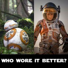 BB-8 or Mark Watney?