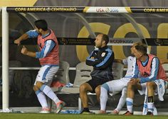 VIDEO: Watch Luis Suarez throw a tantrum as Uruguay crashed out of Copa America
