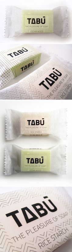 Unique Packaging Design on the Internet, Tabù Soap #packagingdesign #packaging #soap #design