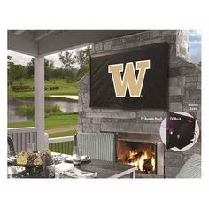 Washington Huskies Indoor/Outdoor TV Cover