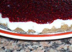 Coisas da cozinha: Tarte de Natas com Coulis de Amora