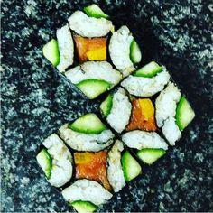 Mosaic sushi : hypnotique et gourmand, le mosaic sushi nous bluffe...