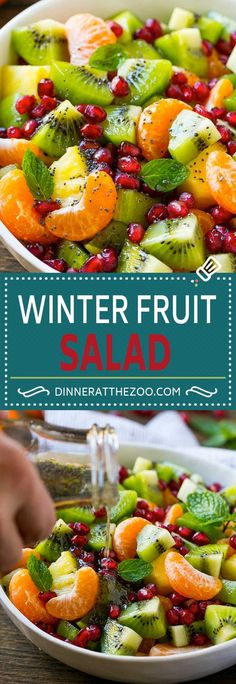 Winter Fruit Salad | Citrus Fruit Salad | Fruit Salad Recipe | Healthy Salad Recipe