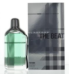Burberry the Beat by Burberry for Men Eau De Toilette 3.4 OZ 100 ML Spray The Beat by Burberry for Men , this tropical and sweet fragrance is a blend of Italian Mandarin, Quince Blossom, Iris, and Ceylon Tea.