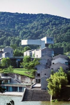 The Sifang Hotel Nanjing offers a unique stay experience in the green sanctuary of Lao Shan National Forest Park, which is a destination in itself. Architecture and art lovers will be able to visit the Sifang Art Museum and appreciate the architectural collection of uniquely designed villas that bear the artistic hallmarks of 24 world-renowned and local architects, including Arata Isozaki, Steven Holl, Kazuyo Sejima, Ettore Sottsass, and Wang Shu, the first Chinese winner of the Pritzker Prize. Local Architects, Arata Isozaki, Steven Holl, Nanjing, Forest Park, National Forest, Villas, Lovers Art, Laos