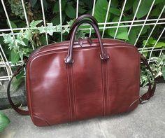 万双 5年位前に買ったものです 使ったりしまったりしてるんですがいい形をしてます #mansaw #briefcase #万双 #ブリーフケース