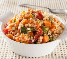 Thrifty Foods - Recipe - Barley and Baked Yam Salad