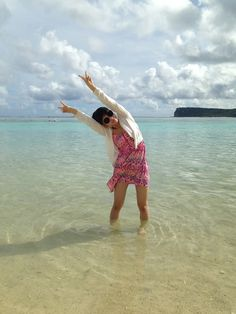 Rina Kondo (近藤里奈), NMB48  |  海綺麗だったな〜。 自分浮かれてるな〜。