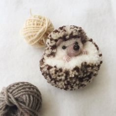 Japanese Artist Makes the Most Adorable PomPom Animals |  My Owl Barn