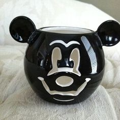 DISNEY HALLOWEEN MICKEY MOUSE VOTIVE CANDLE HOLDER!! NEW