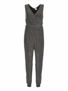 MIA SPARKLING CROSSOVER JUMPSUIT VERO MODA Holiday Countdown contest. Pin to win the style!