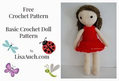 free crochet doll pattern how to crochet a basic doll