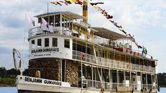 Barco a vapor Benjamim Guimarães