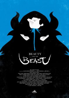 Beauty and The Beast - #graphic #poster