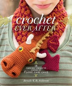 18 projects to crochet happily ever after. From the whimsical mind of Beastly Crochet author Brenda K. B. Anderson comes a funtastic collection of 18 fairy-tale inspired crochet projects. Shows and movies based on fairy tales are incredibly popular, and crafty crocheters now have a book of fabulous projects that pay homage to their favorite stories. Little Red''s hood with integrated infinity scarf will stay put when she''s being chased by the Big Bad Wolf. Sleeping Beauty now has just the…