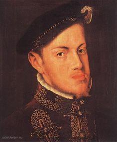 Karel erfde veel grond van zijn neef, Filips. Onder andere de Nederlanden