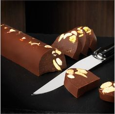 Hazelnut Beche Dark & Nutty - Chocolate Log