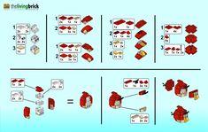 Lego Angry Bird Instructions