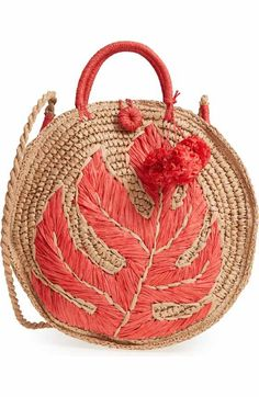 Free shipping and returns on Tommy Bahama Bahama Mama Straw Tote at Nordstrom.com. Braided handles and a trio of poms complement a straw tote that's roomy enough for all the essentials and then some.