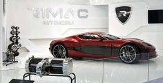 1088hp Rimac Automobili Concept One