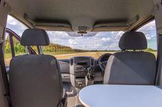 Cool Volkswagen Crafter Mercedes Sprinter Camper Van Interior