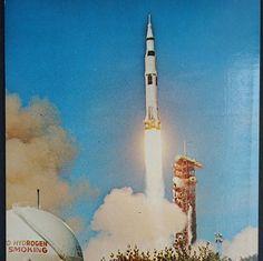 Apollo 15 Launch John F. Kennedy Space Center N.A.S.A.