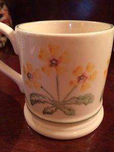 Emma Bridgewater Yellow Primrose 0.5 Pint Mug 1999