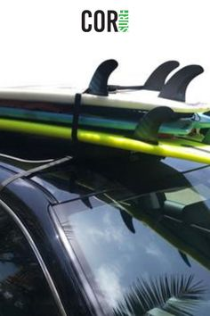 Our car racks hold up to 3 boards! Safely transport your longboards, shortboards and SUPs to and from the beach.